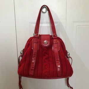 Mexx - Red Knitted Bag -Purse